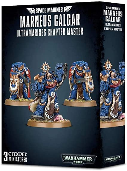 Space Marines Marneus Calgar Ultramarines Chapter Master