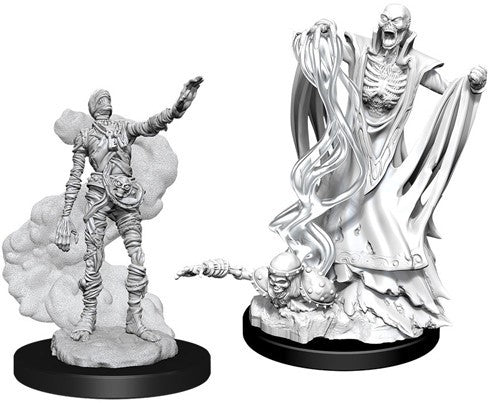 D&D Nolzur's Marvelous Unpainted Minis: Lich And Mummy Lord