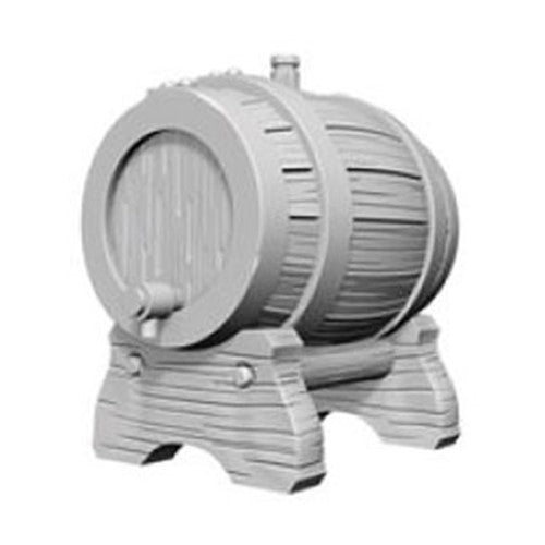 Pathfinder Deep Cuts Unpainted Minis: Keg Barrel