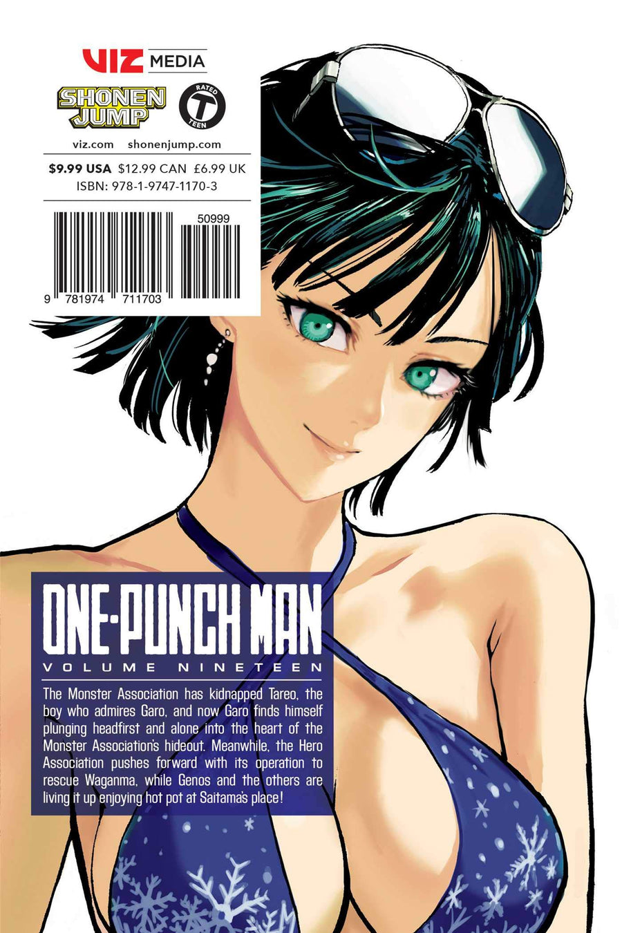 ONE PUNCH MAN VOLUME 19