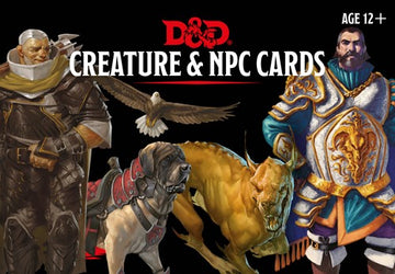 D&D Monster Cards Npcs & Creatures