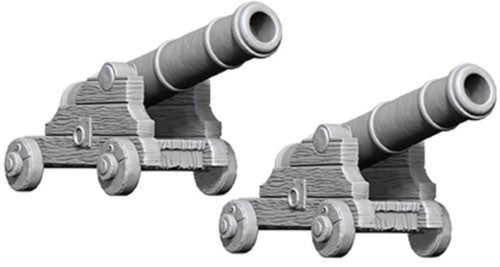 Pathfinder Deep Cuts Unpainted Minis: Cannons