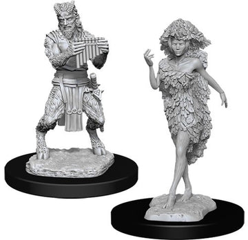 D&D Nolzur's Marvelous Unpainted Minis: Satyr And Dryad