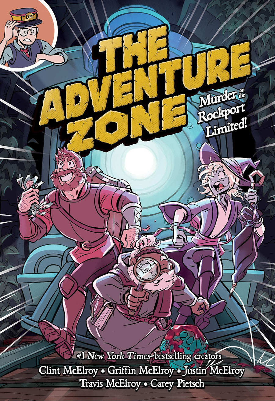 ADVENTURE ZONE VOLUME 2 MURDER ON THE ROCKPORT LIMITED!
