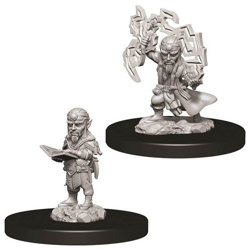Pathfinder Deep Cuts Unpainted Minis: Male Gnome Sorcerer