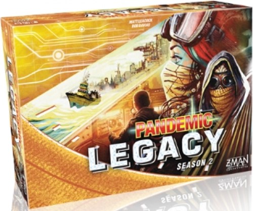 Pandemic Legacy Season 2 - Yellow