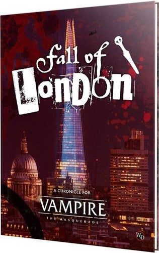 Vampire The Masquerade 5th Edition The Fall Of London