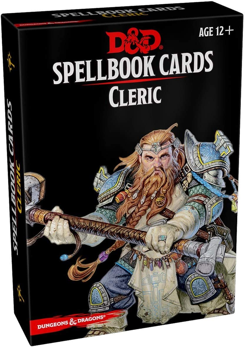 Dungeons & Dragons Spellbook Cards Cleric