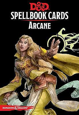 Dungeons & Dragons Spellbook Cards Arcane