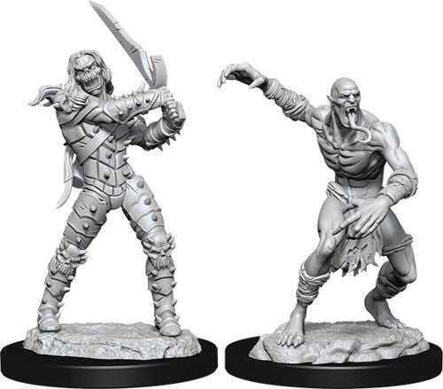 D&D Nolzur's Marvelous Unpainted Minis: Wight And Ghast