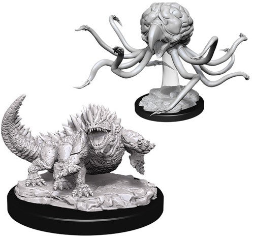 D&D Nolzur's Marvelous Unpainted Minis: Grell And Basilisk