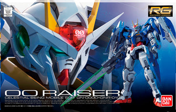 RG 00 Raiser 1/144 Gundam Model Kit