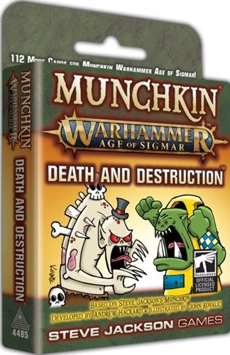 Munchkin AoS Death And Destruction