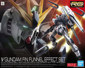 RG Gundam Nu With Fin Funnel Effect Set 1/144 Model Kit