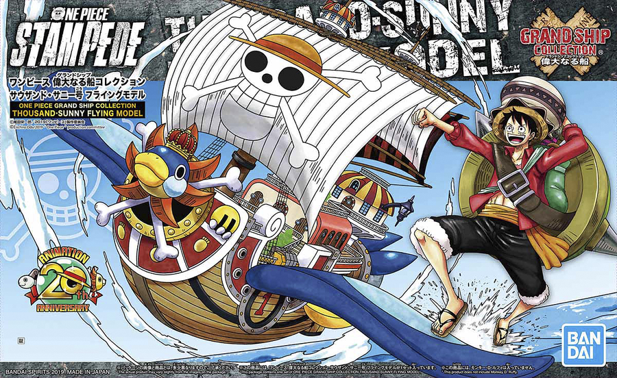 One Piece Grand Ship Collection Thousand Sunny Flying Model Kit