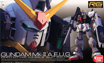 RG Gundam MK-II Aueg Version Prototype RX-178 1/144 Model Kit