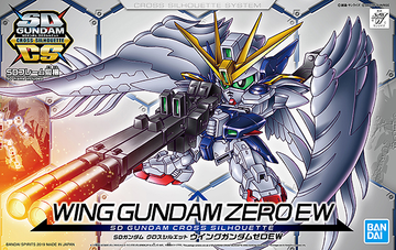 SD Cross Silhouette Wing Gundam Zero EW Model Kit
