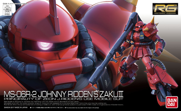 RG Zaku II MS-06R-2 Johnny Ridden 1/144 Gundam Model Kit