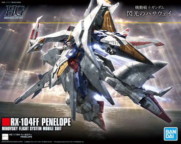 HGUC Penelope 1/144 Gundam Model Kit