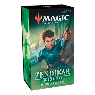 Magic The Gathering Zendikar Rising Pre-Release Kit With Set Booster