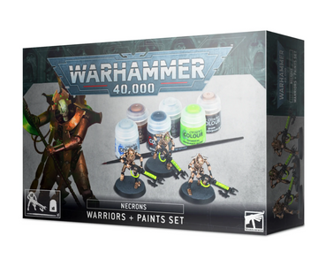 Necrons Warriors & Paints Set