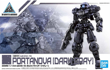 30MM BEXM-15 Portanova Dark Gray 1/144 Model Kit