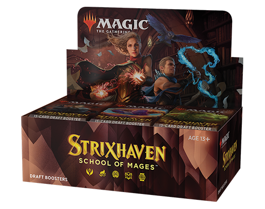 Magic The Gathering Strixhaven School Of Mages Draft Booster Box