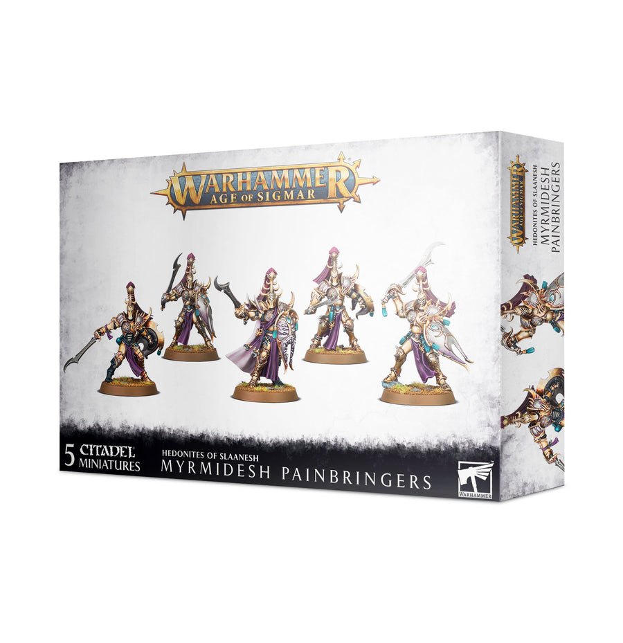 Hedonites Of Slaanesh Myrmidesh Painbringers