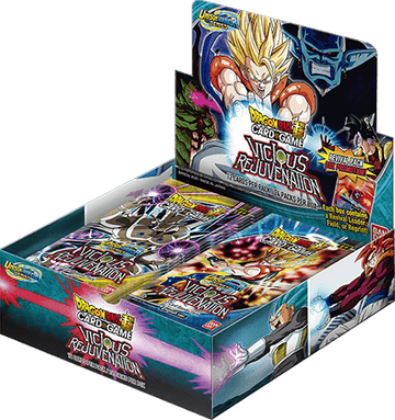 Dragon Ball Super Card Game Unison Warrior 03 Vicious Rejuvenation Booster Box