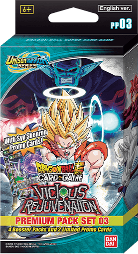 Dragon Ball Super Card Game Unison Warrior 03 Premium Pack Set