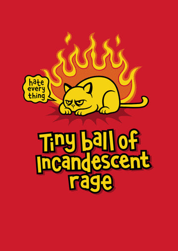 Rage Cat Unisex T-Shirt