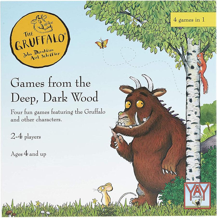 The Gruffalo Games From The Deep Dark Wood