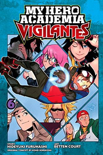 My Hero Academia Vigilantes Volume 6