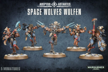 Adeptus Astartes Space Wolves Wulfen