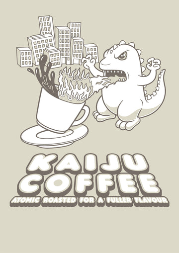 Kaiju Coffee Ladies T-Shirt