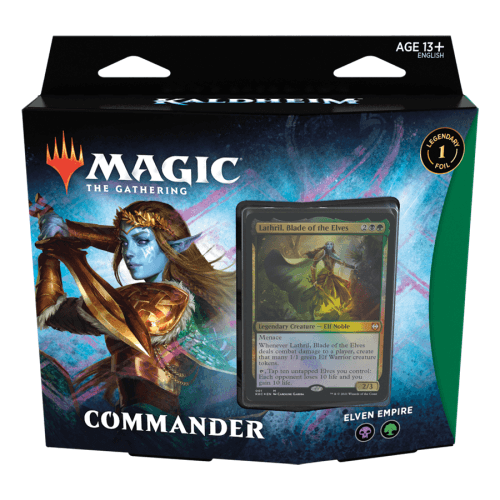 Magic: The Gathering Kaldheim Commander Deck Elven Empire