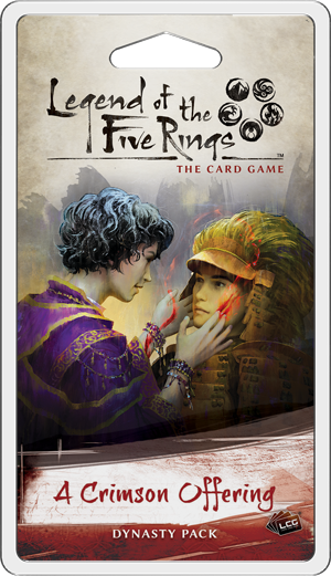 L5R LCG A Crimson Offering Dynasty Pack