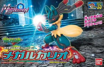 Pokemon Mega Lucario Plamo Model Kit