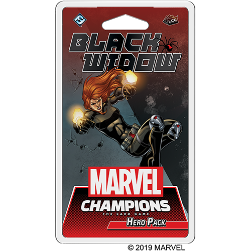 Marvel Champions Black Widow Hero Pack