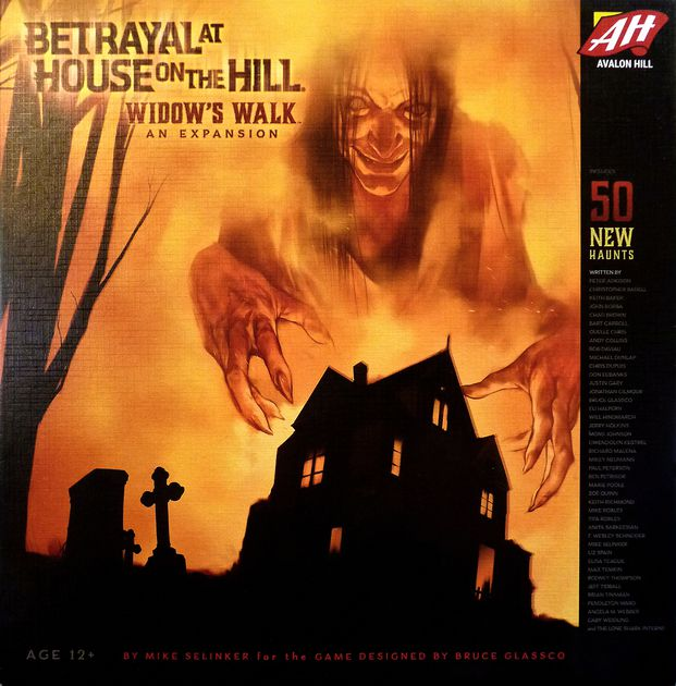 Betrayal at House on the Hill - Widows Walk