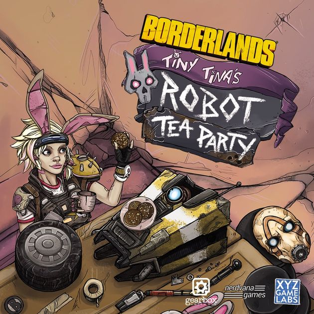 Borderlands Tiny Tina's Robot Tea Party