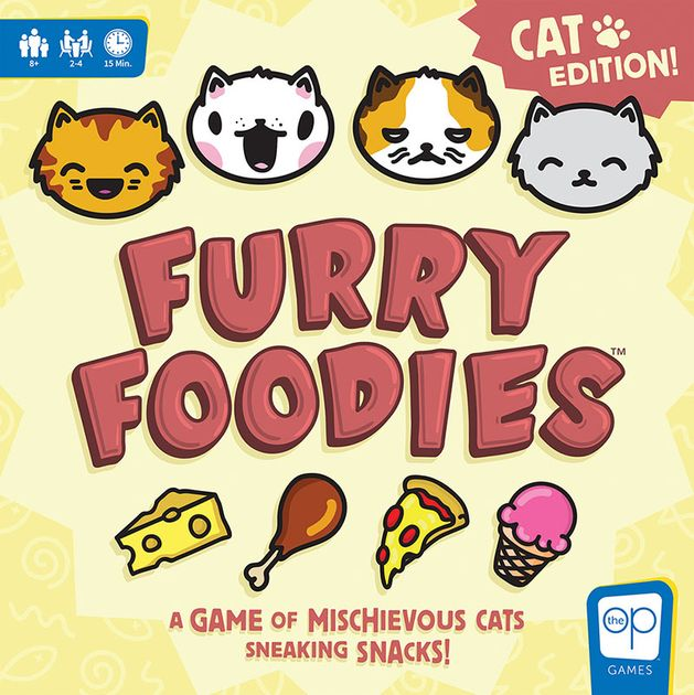 Furry Foodies Cat Edition