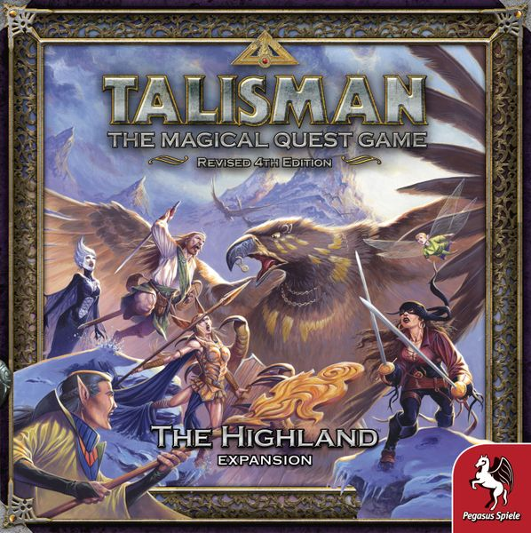 Talisman 4th Edition Highlands Expansion