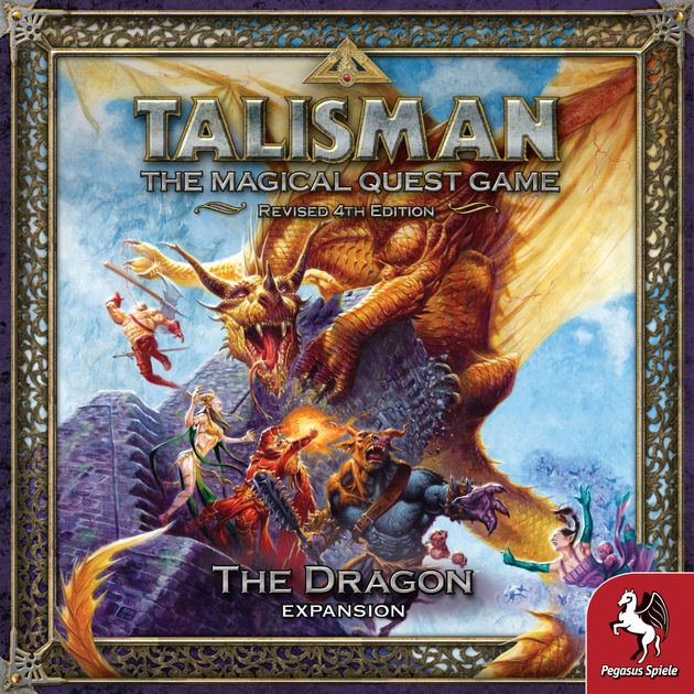 Talisman 4th Edition The Dragon
