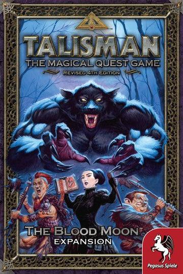 Talisman 4th Edition Blood Moon Expansion