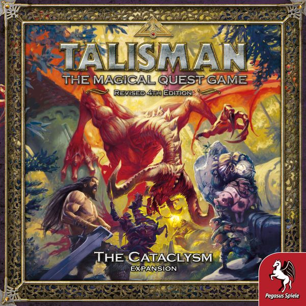 Talisman 4th Edition Cataclysm Expansion