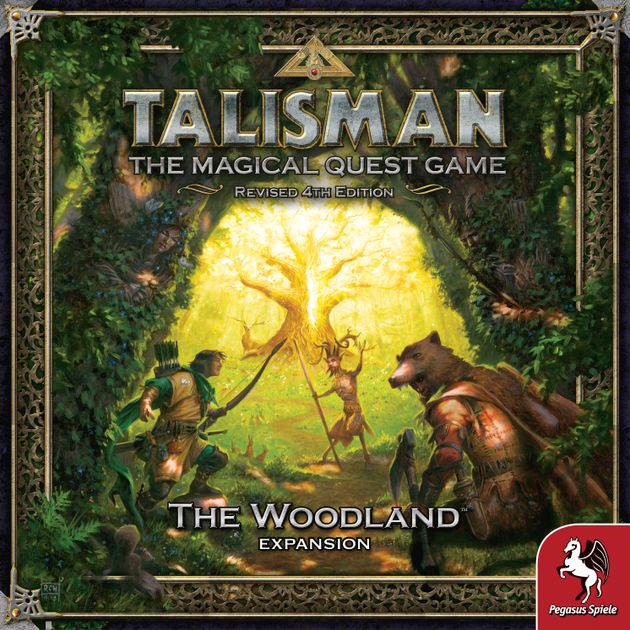Talisman 4th Edition The Woodland