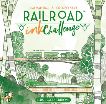 Railroad Ink Challenge - Lush Green Edition