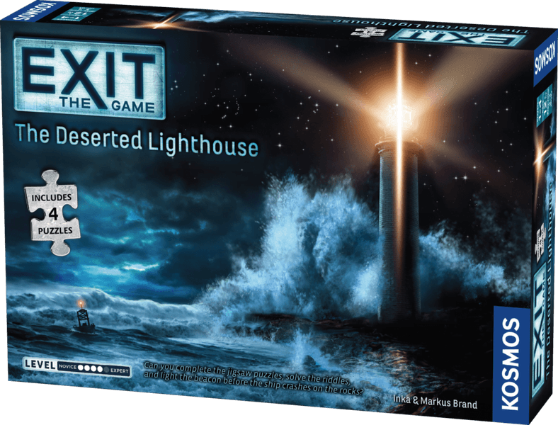 Exit The Game + Puzzle: The Deserted Lighthouse