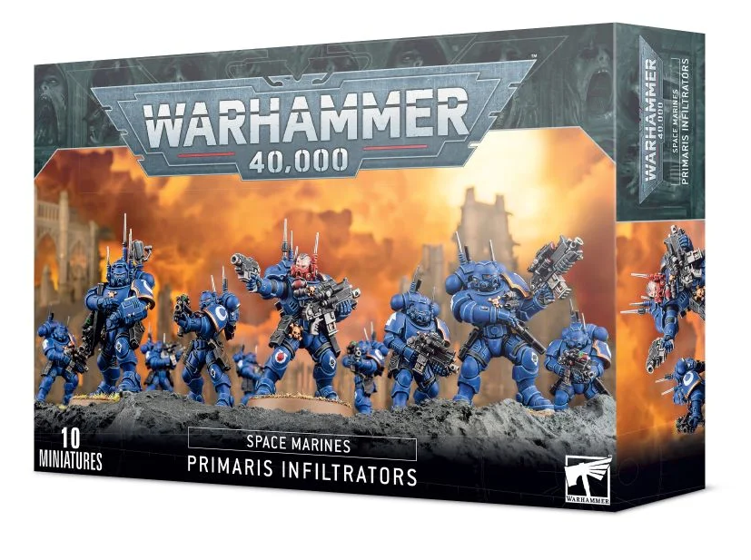 Space Marine Primaris Infiltrators